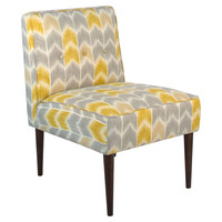 Lucile 3-Button Chair, Yellow, Accent & Occasional Chairs