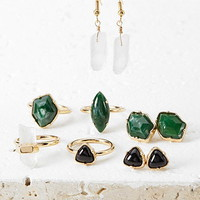 Faux Stone Jewelry Set