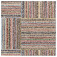 Colorful lines pattern fabric