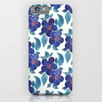 flowery love. iPhone & iPod Case by Pink Berry Patterns