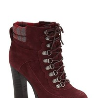 Nine West 'Abrial' Lace-Up Bootie (Women) | Nordstrom