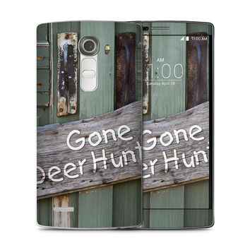 Gone Deer Hunting Sign Skin for the LG