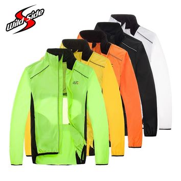 Tour de France Cycling Jacket Long Sleeves Unisex Reflective Windproof Riding Wear Clothes Bike Bicycle Windbreak Rain Clothing