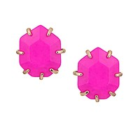 Morgan Stud Earrings in Magenta - Kendra Scott Jewelry