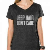Jeep Hair Don't Care (Gray)
