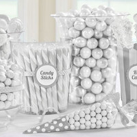White Candy Buffet- Party City