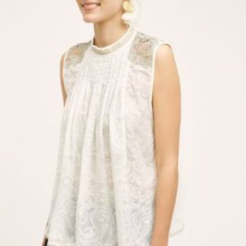 Tiny Pizzo Tank in White Size: