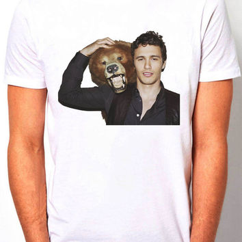 James Franco actor  - Men's T- Shirt - Norman Reedus comedy  Size ( S,M,L,XL )