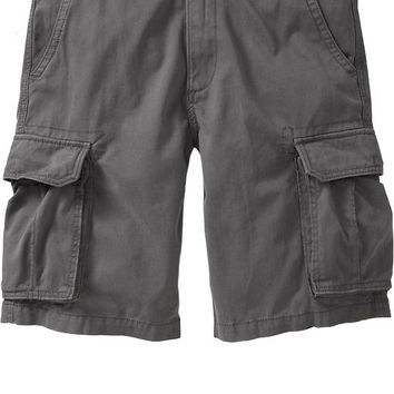 Old Navy Mens Broken In Cargo Shorts 10""