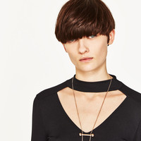 PACK OF CONTRASTING NECKLACES DETAILS