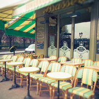 Paris Famous Cafe Esmeralda Fine Art Photography Print