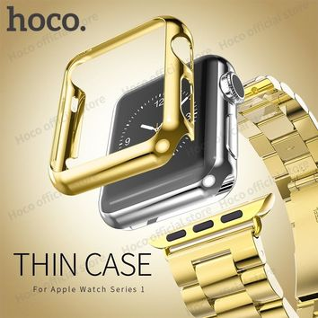 HOCO Protective Case for Apple Watch iWatch Colorful Hard Plastic Cover for Smart Watch Shell Protection Bumper