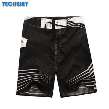 2018 New Hot Mens Shorts Surf Board Shorts Summer Sport Beach Homme Bermuda Short Pants Quick Dry Silver