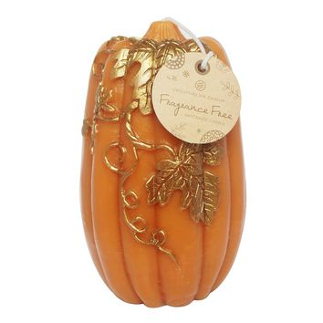 Chesapeake Bay Candle Large Unscented Pumpkin Candle (Orange)