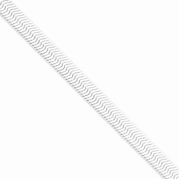 Sterling Silver Magic Herringbone Chain Bracelet