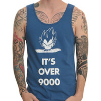 Dragon Ball Z It's Over 9000 Tank Top