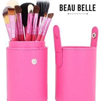 Beau Belle Makeup Brushes - 12pcs Make Up Brush Set - Makeup Brush Holder - Professional Makeup Brushes - Make Up Brushes - Makeup Brush Kit - Makeup Brushes Set - Makeup Brushes Holder - Professional Makeup Brush Set
