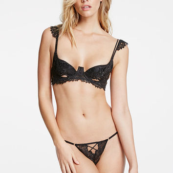 Peek-a-boo Balconet Bra - Very Sexy Luxe - Victoria's Secret