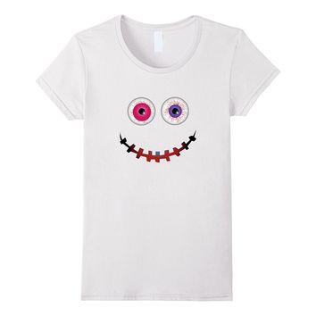 Funny Halloween Costumes T-shirt Emoji Gifts Kid Adult 2017
