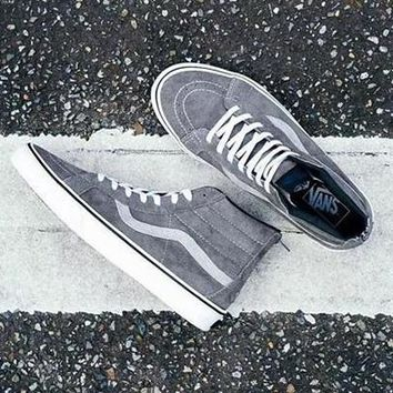 Vans x Madness Sk8-Mid Canvas Flat Sneakers Sport Shoes