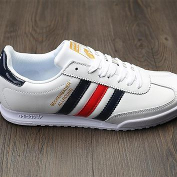 Adidas Beckenbauer Allround Leather Sport Shoes Sneakers-3