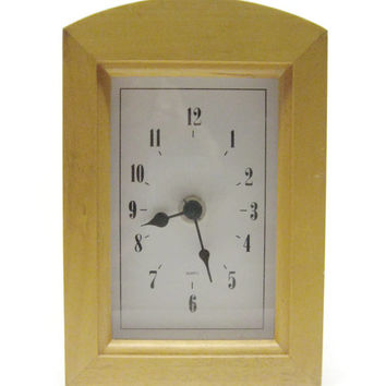 Wood Quartz Table Quartz Solid Wood Clock