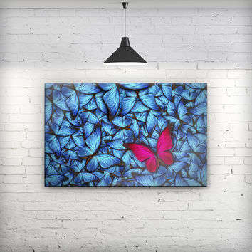 Contrasting Butterfly - Fine-Art Wall Canvas Prints