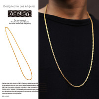 Jewelry Shiny Gift New Arrival Hip-hop Stylish 6cm Twisted Necklace [10210219715]
