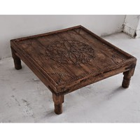 Antique Jodhpur Low Table
