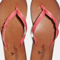 AEO Women's Braided Flip-flop (Pink)
