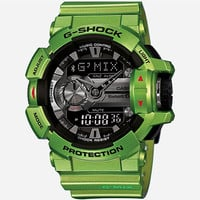 G-Shock Gba400-3B Bluetooth Watch Green One Size For Men 26015350001