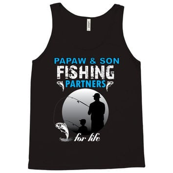 Papaw & Son Fishing Partners For Life Tank Top