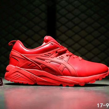 asics gel kayano trainer women men running sport shoes sneakers b ssrs cjzx red number 1  number 1