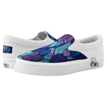 Mess Cube - Zipz Slip On Shoes