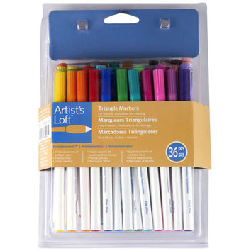 Artist's Loft™ Fundamentals™ Triangle Markers Set