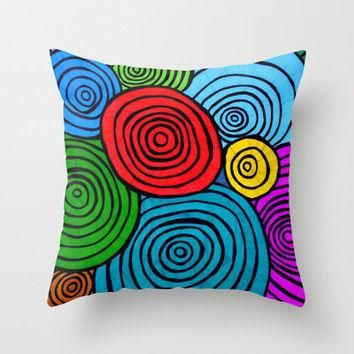You Are Loved Throw Pillow by Erin Jordan | Society6