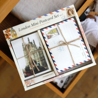 London Mini Postcard & Envelope Set