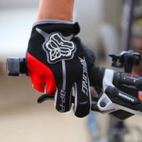 Brand Cycling Glove Gel  Mountain Bike Bicycle Full Long Finger Gloves for Man Woman MTB BMX DH Off Road Motocross Glove