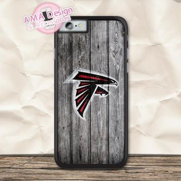 Atlanta Falcons Football Protective Case For iPhone X 8 7 6 6s Plus 5 5s SE 5c 4 4s For iPod Touch