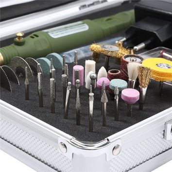 WLXY 80 in 1 Multi-function Mini Drill Electric Rotary Tool Polish Grinder Tool  Mini Drill Rotary Tool Kit Power Tools