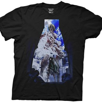 Cool Attack on Titan 2018 New Mens  DVD Part 2 Cover Image Graphic T-Shirt  Tee  Shirts AT_90_11