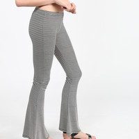 Flare Striped Pants