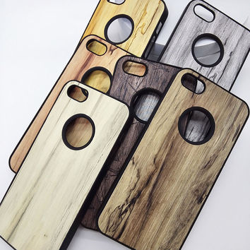Luxury hard case for iphone 4 s iphone4 by pc brand phone copy wood protective back wooden cover