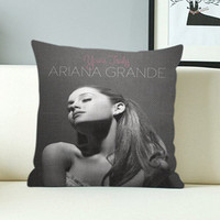 Ariana Grande - Design Pillow Case with Black/White Color.