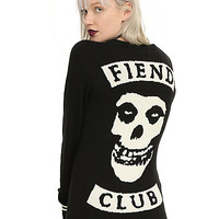 Misfits Fiend Club Girls Cardigan