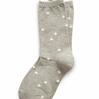 Richer Poorer Willa Print Sock