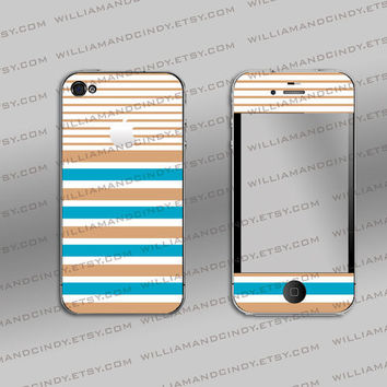 Iphone 4 & 4s cover - Simply Classy Pattern Decal