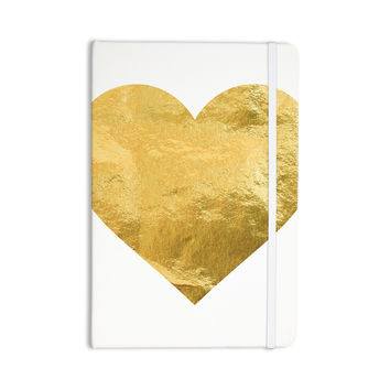 "KESS Original ""Heart of Gold"" Everything Notebook"