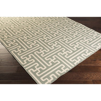 Langley Street Kiara Moss & Ivory Indoor/Outdoor Area Rug
