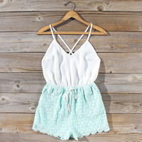 Sea Lace Romper